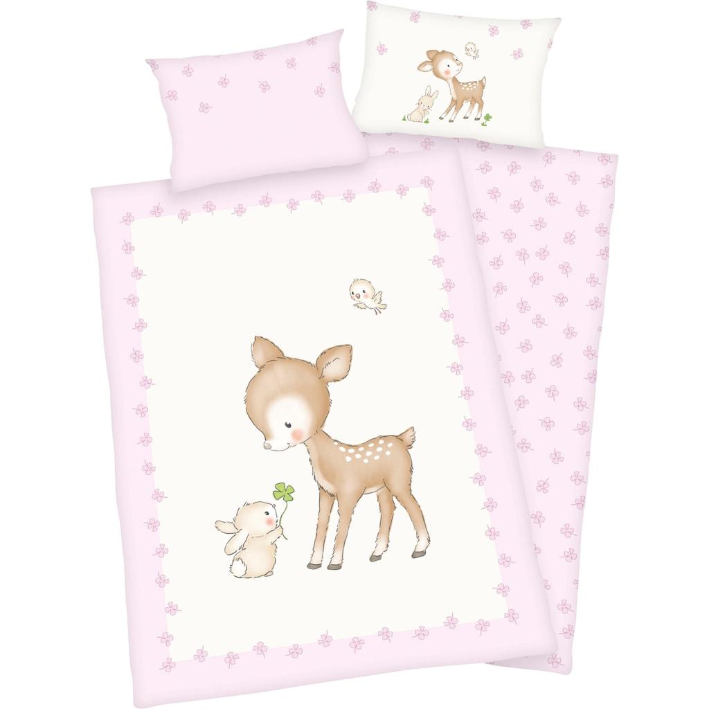 Baby Best Babybettwäsche »Kleines Reh«, mit niedlichem Motiv