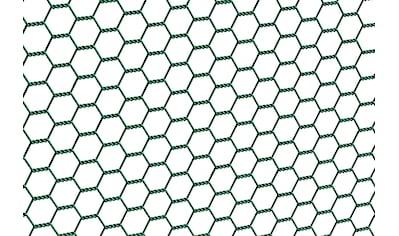 GAH Alberts Sechseckgeflecht, 50 cm hoch, 10 m, grün beschichtet kaufen
