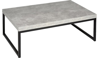 PRO Line Couchtisch, rechteckig mit Metallgestell kaufen