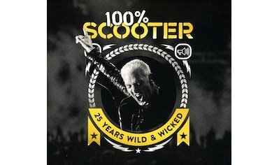 Musik-CD »100% Scooter-25 Years Wild & Wicked (3CD-Digipak) / Scooter« kaufen