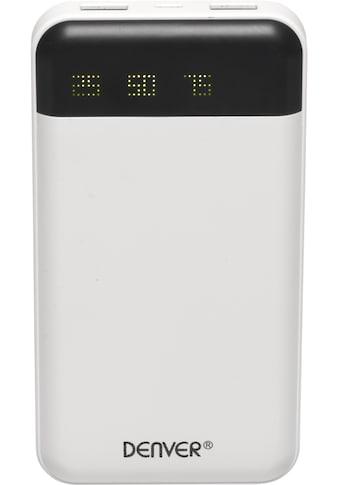 Denver Powerbank »PBA - 12000 mit 12.000 mAh und Ladekabel« kaufen