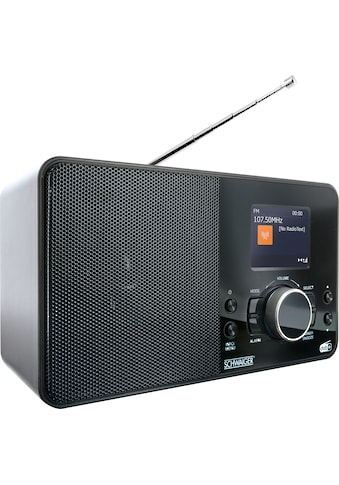 Schwaiger Digital Radio DAB/DAB+ tragbar mit UKW und DAB Empfang »Radiowecker mit... kaufen