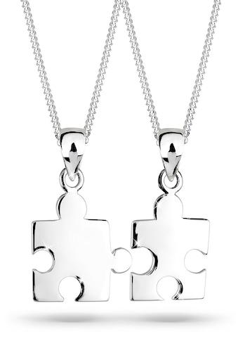 Elli Ketten-Set »Partnerketten Puzzle 925 Sterling Silber« kaufen