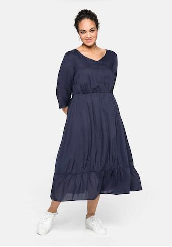 Sheego Sommerkleid, aus nachhaltiger Viskose kaufen