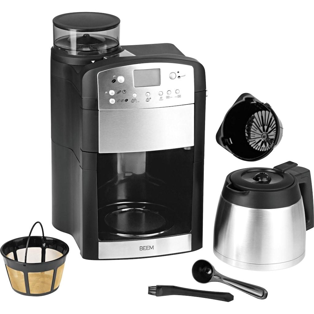 BEEM Kaffeemaschine mit Mahlwerk »Fresh-Aroma-Perfect Thermolux«, goldfarbener Permanentfilter