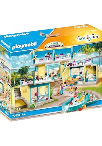 Playmobil® Konstruktions-Spielset »PLAYMO Beach Hotel (70434), Family Fun«, (401 St.),... kaufen