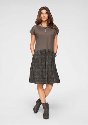 Boysen's Sweatkleid, mit bedrucktem Rockteil & Seitentaschen kaufen
