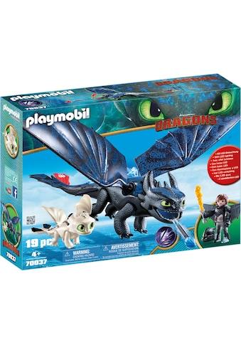 Playmobil® Konstruktions-Spielset »Ohnezahn und Hicks Spielset (70037), Dragons«, (19... kaufen