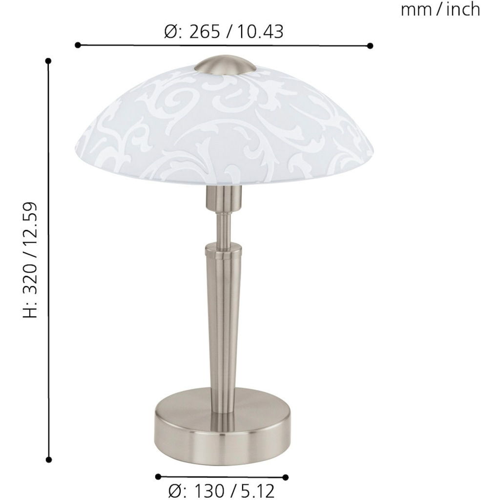EGLO Tischleuchte »SOLO«, E14