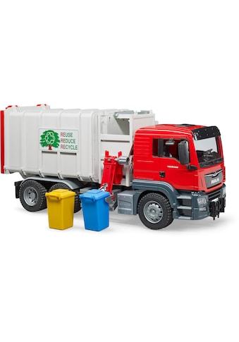 """Bruder® Spielzeug - Müllwagen """"MAN TGS Seitenlader"""" kaufen"""