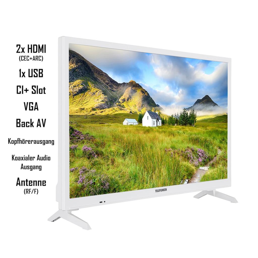 "Telefunken LED-Fernseher »XH24J101-W«, 60 cm/24 "", HD-ready"