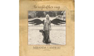 Musik-CD »The Weight of These Wings / Lambert,Miranda« kaufen