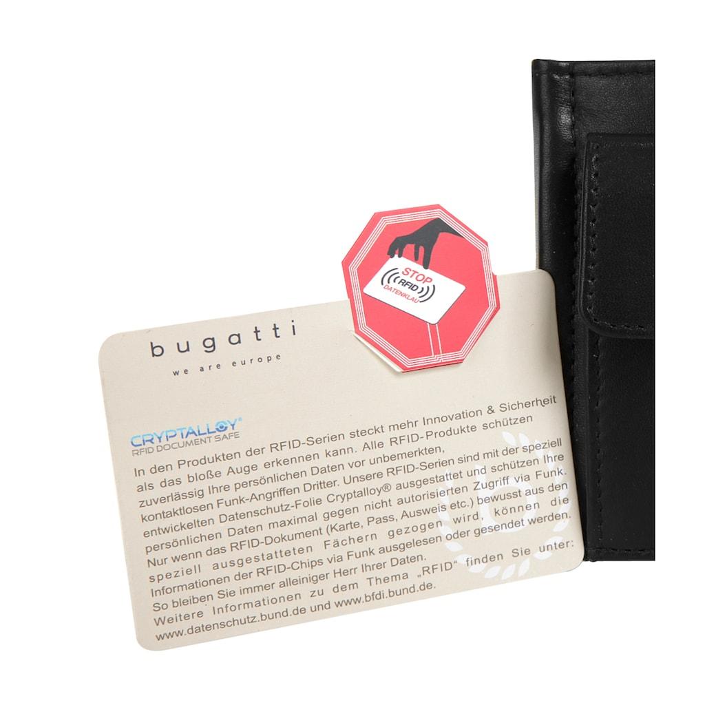 bugatti Geldbörse »PRIMO RFID«, RFID-Schutz