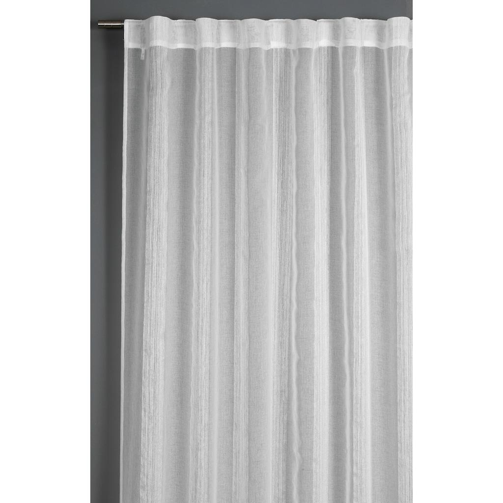 GARDINIA Vorhang »Schal mit verdeckter Schlaufe«, HxB: 245x140