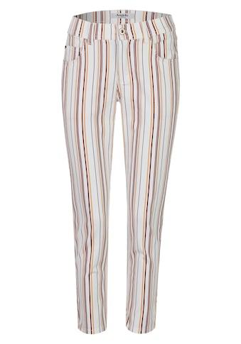 ANGELS 7/8-Jeans, 'Ornella' mit gestreiften, bunten Details kaufen