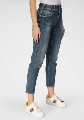 Herrlicher High-waist-Jeans »GILA HI CONIC«, umweltfreundlich dank dem Einsatz von... kaufen