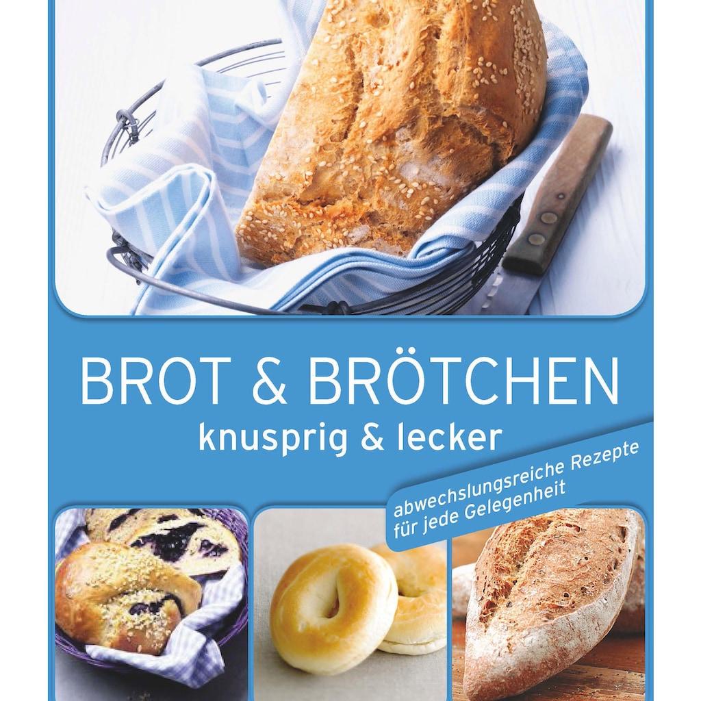 CHG Brotbackform, (Set), Stahlblech, mit Deckel, Inkl. Backbuch