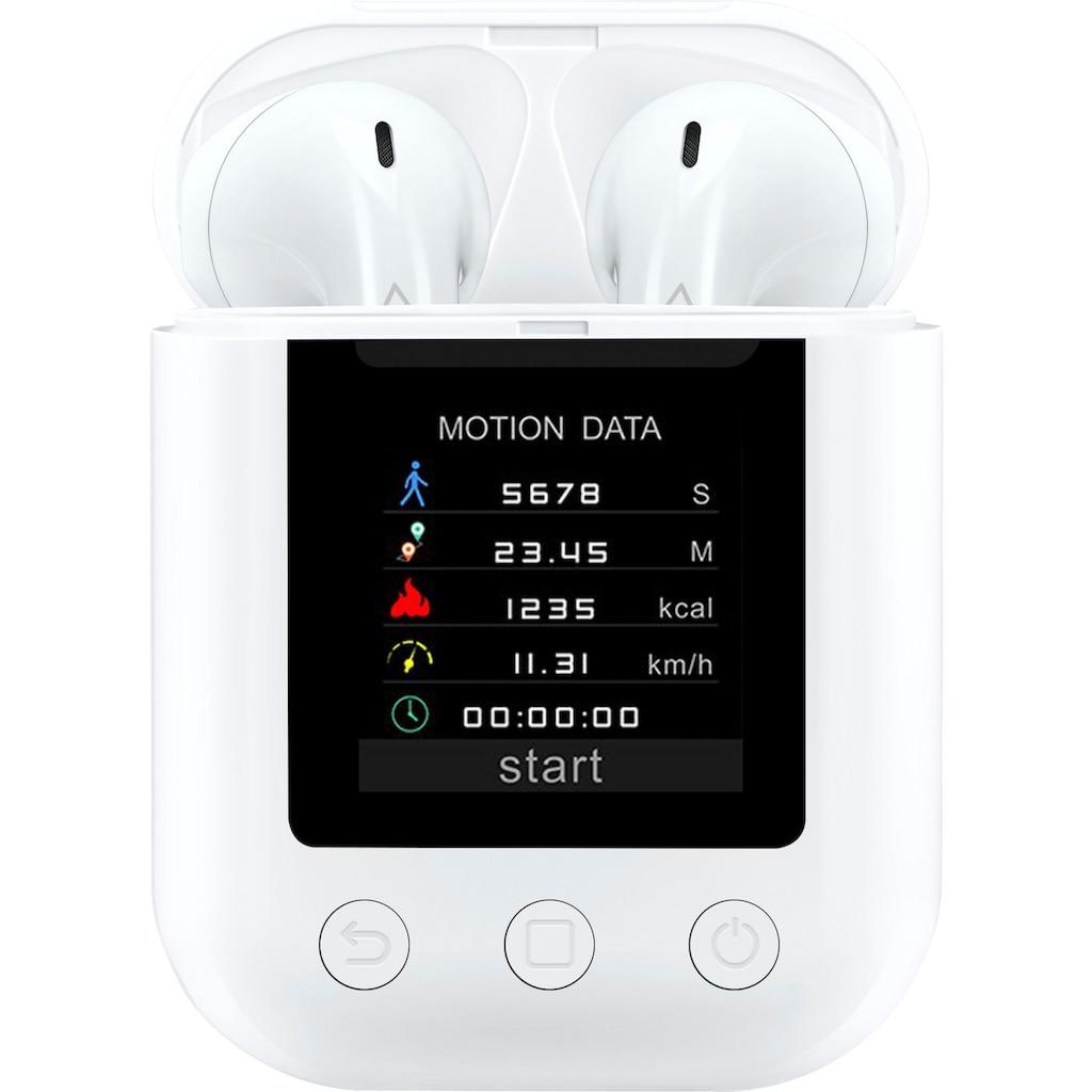 Denver wireless In-Ear-Kopfhörer »TWM-850 Earbuds mit MP3-Player«, Bluetooth, True Wireless