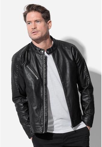 Stedman Biker - Jacke in Lederoptik kaufen