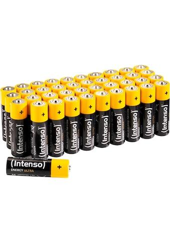 Intenso Batterie »Energy Ultra AA LR6«, (40 St.) kaufen