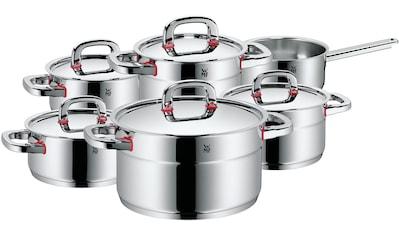 WMF Topf-Set »Premium One«, Cromargan® Edelstahl Rostfrei 18/10, (Set, 11 tlg.),... kaufen