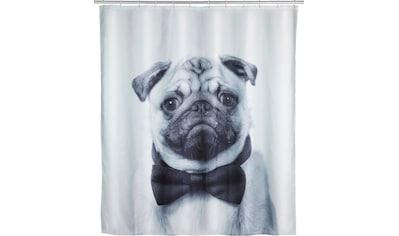 WENKO Duschvorhang »Pugy«, Breite 180 cm, Höhe 200 cm, Polyester, waschbar kaufen