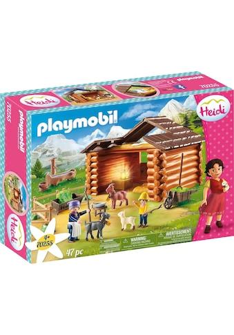 Playmobil® Konstruktions-Spielset »Peters Ziegenstall (70255), Heidi«, ; Made in Germany kaufen