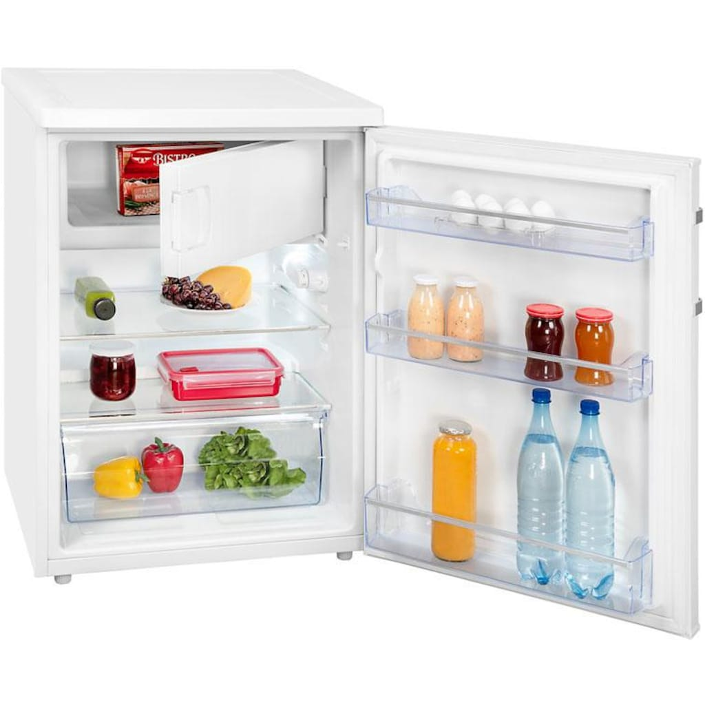 exquisit Table Top Kühlschrank »KS 18-17 A++ Inoxlook«
