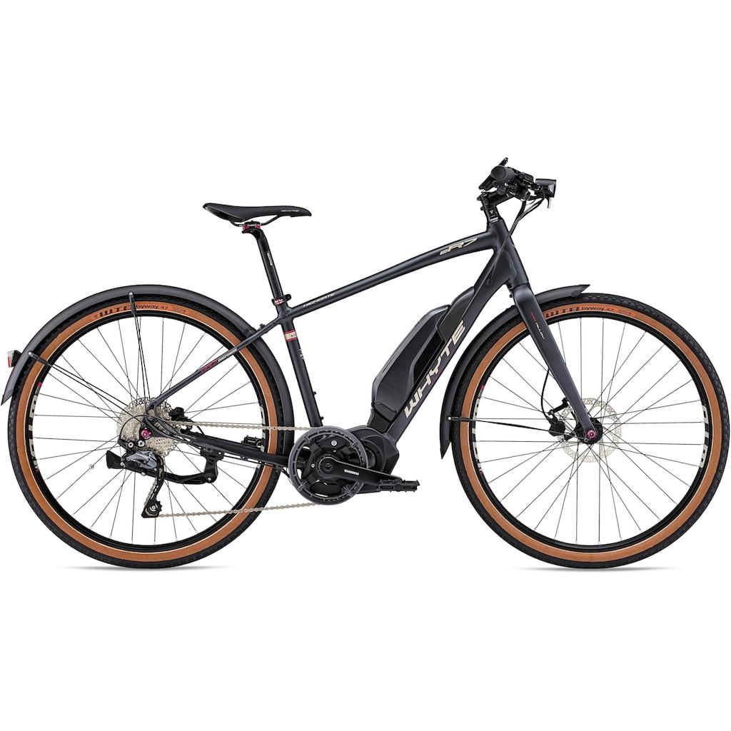 Whyte Bikes E-Bike, 10 Gang, Shimano, Deore, Mittelmotor 250 W