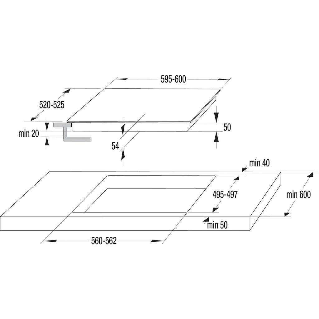 GORENJE Backofen-Set »PACIFIC Pyro Ind«, BOP737E301X, mit 2-fach-Teleskopauszug, Pyrolyse-Selbstreinigung
