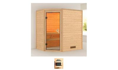 Karibu Sauna »Calla«, ohne Ofen kaufen