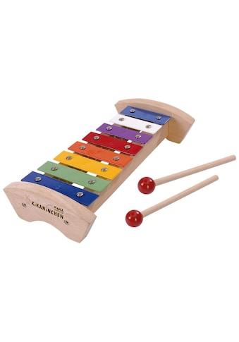 SIMBA Spielzeug-Musikinstrument »Xylophon«, KiKANiNCHEN Holz-Xylophon, FSC®-Holz aus... kaufen