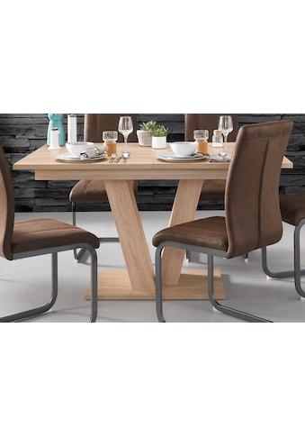 Homexperts Esstisch, Breite 140 oder 160 cm, mit Auszugsfunktion kaufen