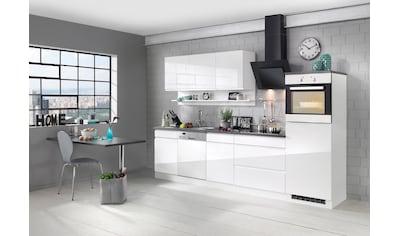 HELD MÖBEL Küchenzeile »Virginia«, mit E - Geräten, Breite 300 cm kaufen