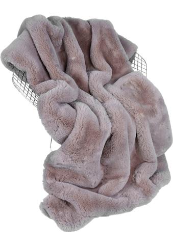 Star Home Textil Wohndecke »Donna 2«, mit weichem Streifenmuster kaufen