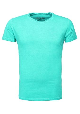 Akito Tanaka T-Shirt, in cooler Oil Waschung kaufen