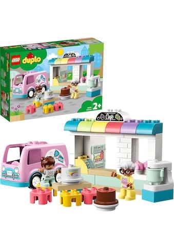 """LEGO® Konstruktionsspielsteine """"Tortenbäckerei (10928), LEGO® DUPLO® Town"""", Kunststoff, (46 - tlg.) kaufen"""