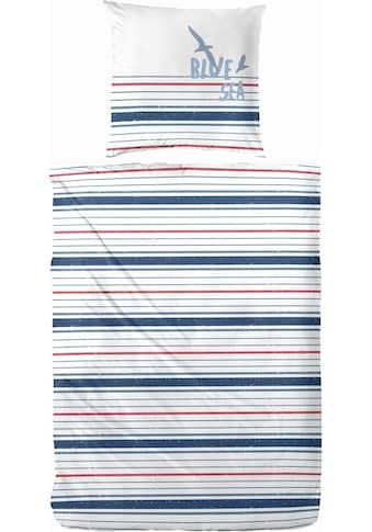 Primera Bettwäsche »Blue Sea«, mit schmalen Streifen kaufen