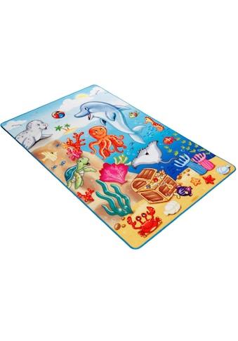 Böing Carpet Fußmatte »Lovely Kids LK-7«, rechteckig, 2 mm Höhe, Schmutzfangmatte,... kaufen