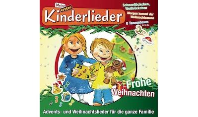 Musik-CD »Meine Ersten Kinderlieder-Frohe Weihnachten / KINDERLIEDERBANDE« kaufen