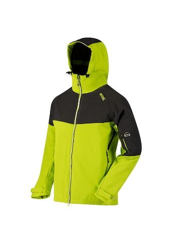 Regatta Softshelljacke »Great Outdoors Herren Hewitts II Softshell Jacke mit Kapuze« kaufen