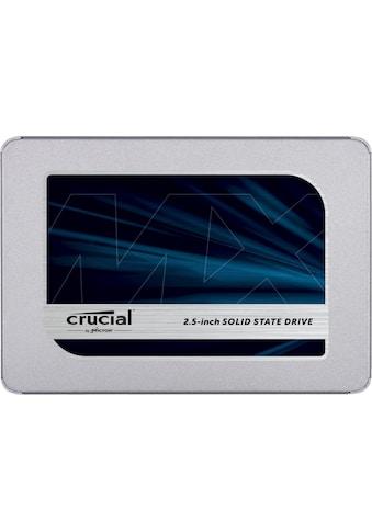 "Crucial interne SSD »MX500 500GB SSD«, 2,5 "", 3D NAND SATA kaufen"