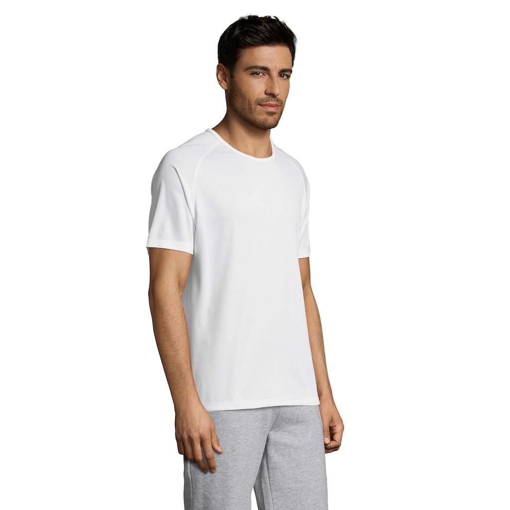SOLS T-Shirt »Herren Sporty Performance, Kurzarm, Rundhals«