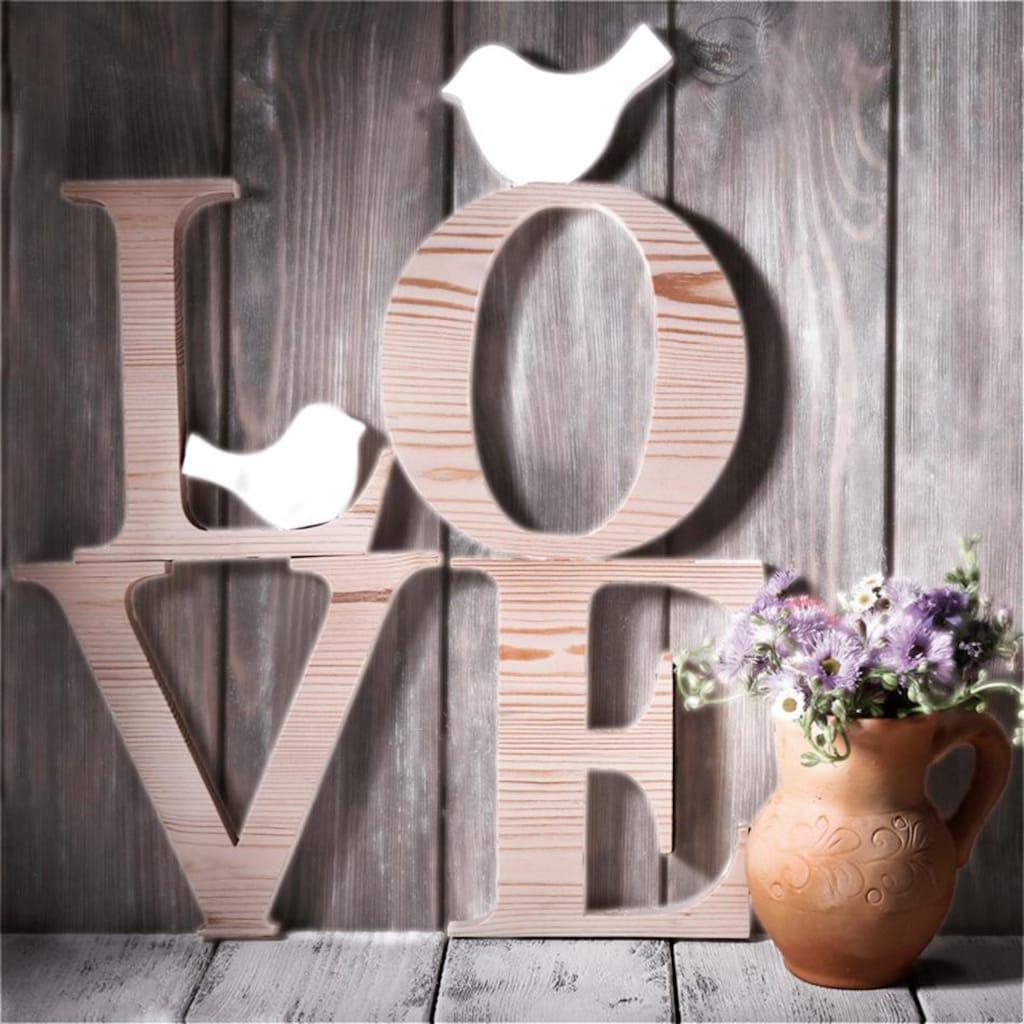 Home affaire Leinwandbild »Love Sephia«, 40/40 cm