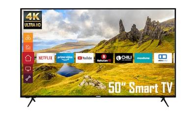 "Telefunken LED-Fernseher »XU50K521«, 127 cm/50 "", 4K Ultra HD, Google TV-Smart-TV kaufen"