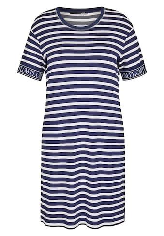 LeComte Shirtkleid, mit Streifen-Muster und halblangen Ärmel kaufen