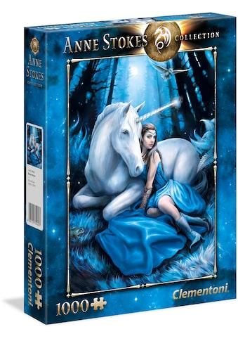 """Clementoni® Puzzle """"Anne Stokes: Blauer Mond"""" kaufen"""