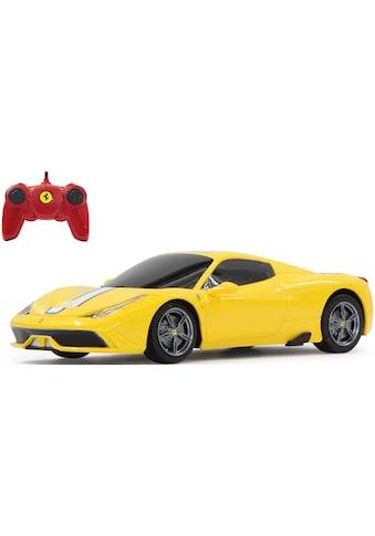 Jamara RC-Auto »Ferrari 458 Speciale A 27 MHz 1:24 gelb« kaufen