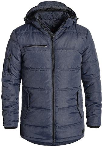 Blend Langjacke »Borisov«, warme Jacke mit abnehmbarer Kapuze kaufen