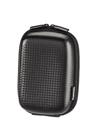 Hama Kameratasche »Innenmaße 7 x 4 x 11 cm«, Hardcase Carbon Style, 60L, Schwarz kaufen